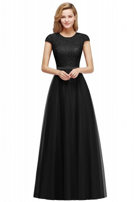 Designer evening dresses wine red | Prom dresses with lace_5