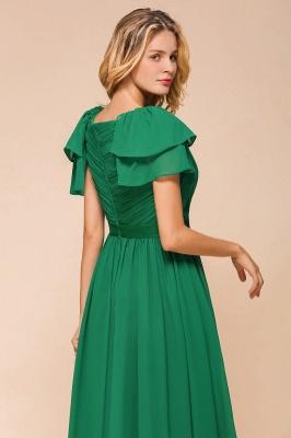 Brautjungfernkleider Lang Grün   Kleider für Brautjungfern_9