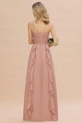 Brautjungfernkleider Lang Altrosa   Kleider für Brautjungfern Günstig_3