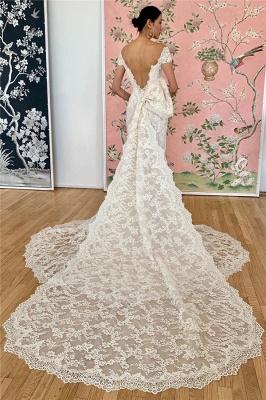 Elegante Brautkleider Meerjungfrau | Spitze Hochzeitskleider Online Kaufen_2