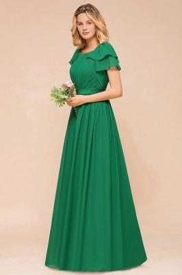 Brautjungfernkleider Lang Grün   Kleider für Brautjungfern_5