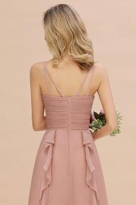 Brautjungfernkleider Lang Altrosa   Kleider für Brautjungfern Günstig_7
