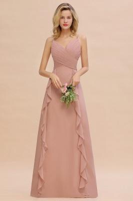 Brautjungfernkleider Lang Altrosa | Kleider für Brautjungfern Günstig