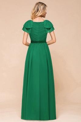 Brautjungfernkleider Lang Grün   Kleider für Brautjungfern_3