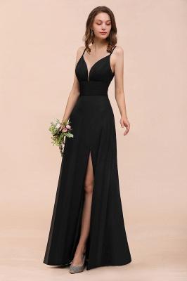 Schwarze Brautjungfernkleider Lang Günstig   Kleid für Brautjungfern_5