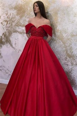 Designer Abendkleider Lang Rot | Abendmoden Abiballkleider_3