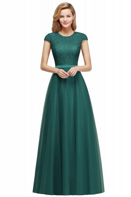 Designer evening dresses wine red | Prom dresses with lace_7