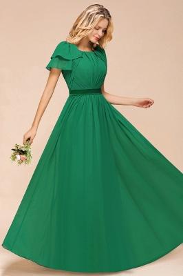 Brautjungfernkleider Lang Grün   Kleider für Brautjungfern_7