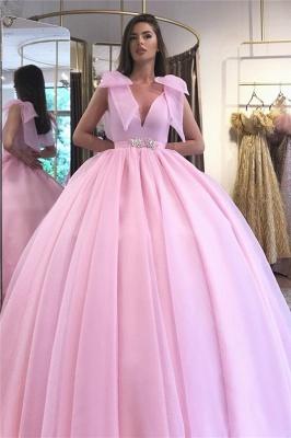 Elegant evening dresses long pink   Evening wear cheap online_1