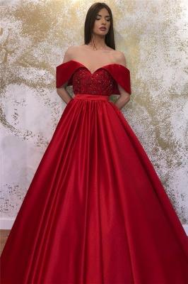 Designer Abendkleider Lang Rot | Abendmoden Abiballkleider_2