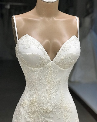 Designer wedding dresses mermaid | Wedding dresses with lace online_3