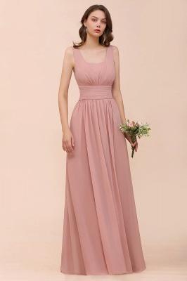 Schöne Brautjungfernkleider Lang Altrosa | Kleider für Brautjungfern_4