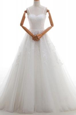 Elegante Hochzeitskleider A linie | Brautkleid Cream_1