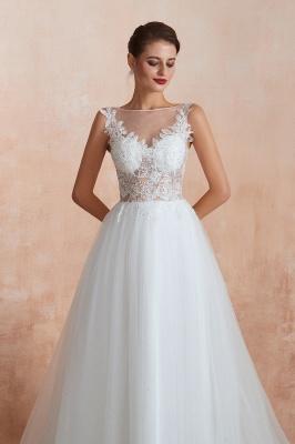 Schlichte Hochzeitskleider A Linie | Elegante Brautkleider Online Kaufen_6