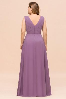 Flieder Brautjungfernkleider Große Größe | Kleider Für Brautjungfern_3