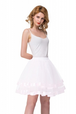 Hoop skirt short cheap | Ball gown with hoop skirt_16