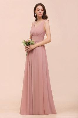 Schöne Brautjungfernkleider Lang Altrosa | Kleider für Brautjungfern_5