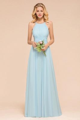 Günstige Brautjungfernkleider Heller Blau | Hochzeitsgästekleider Günstig_1