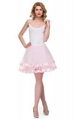 Hoop skirt short cheap | Ball gown with hoop skirt_17