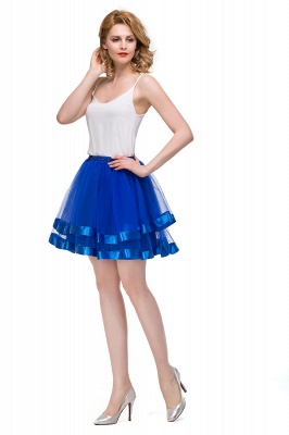 Hoop skirt short cheap | Ball gown with hoop skirt_15
