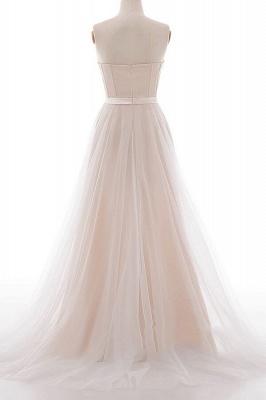 Elegante Brautkleider A linie | Hochzeitskleider Spitze Bodenlang_4