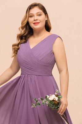 Flieder Brautjungfernkleider Große Größe | Kleider Für Brautjungfern_7