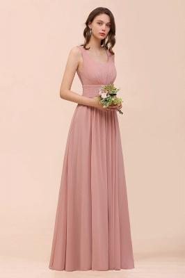 Schöne Brautjungfernkleider Lang Altrosa | Kleider für Brautjungfern_8