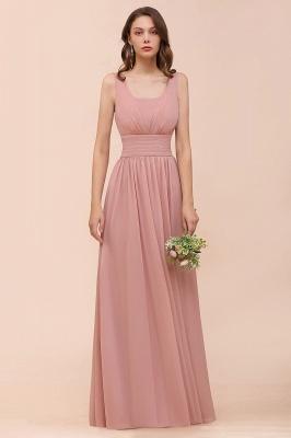 Schöne Brautjungfernkleider Lang Altrosa | Kleider für Brautjungfern_6