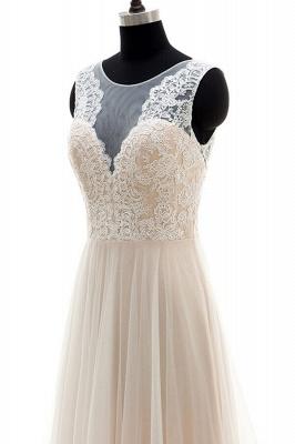 Fashion Brautkleider A Linie | Hochzeitskleider Schlicht Online_5