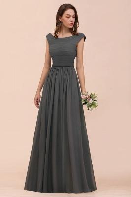 Brautjungfernkleider Lang Dunkel Grau | Kleider Für Bautjungfern_7