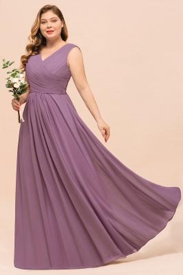 Flieder Brautjungfernkleider Große Größe | Kleider Für Brautjungfern_5
