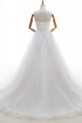 Elegante Hochzeitskleider A linie | Brautkleid Cream_3