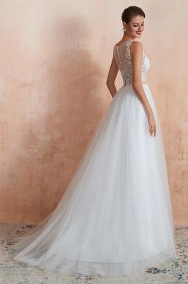 Schlichte Hochzeitskleider A Linie | Elegante Brautkleider Online Kaufen_5