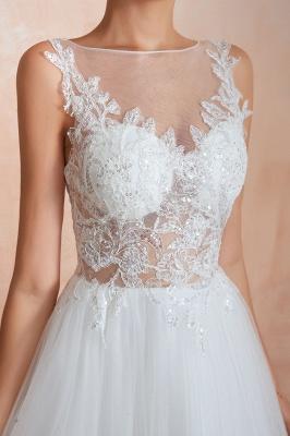 Schlichte Hochzeitskleider A Linie | Elegante Brautkleider Online Kaufen_9