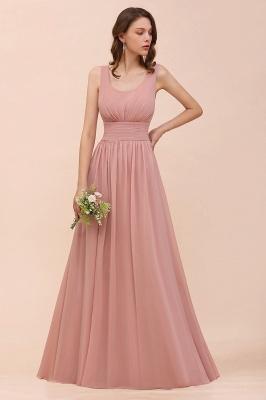 Schöne Brautjungfernkleider Lang Altrosa | Kleider für Brautjungfern_7