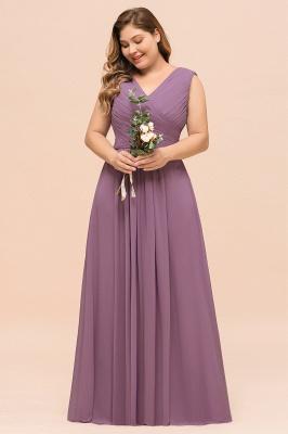Flieder Brautjungfernkleider Große Größe | Kleider Für Brautjungfern_9