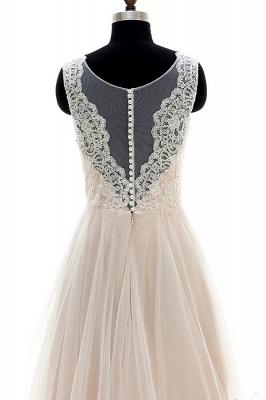 Fashion Brautkleider A Linie | Hochzeitskleider Schlicht Online_6