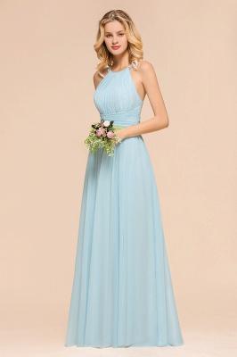 Günstige Brautjungfernkleider Heller Blau | Hochzeitsgästekleider Günstig_6
