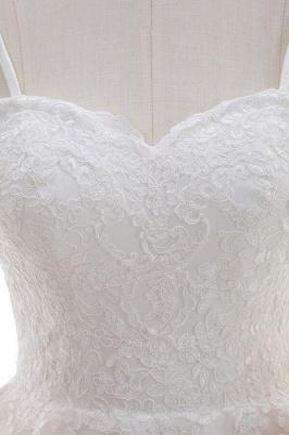 Elegante Hochzeitskleider A linie | Brautkleid Cream_7