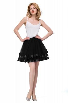 Hoop skirt short cheap | Ball gown with hoop skirt_5