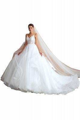 Brautkleid A Linie Spitze Rückenfrei | Schöne Hochzeitskleider_1