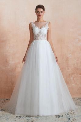 Schlichte Hochzeitskleider A Linie | Elegante Brautkleider Online Kaufen_10