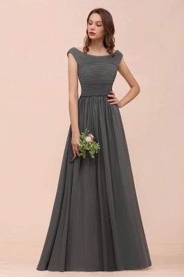 Brautjungfernkleider Lang Dunkel Grau | Kleider Für Bautjungfern_6