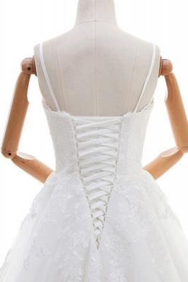 Elegante Hochzeitskleider A linie | Brautkleid Cream_6
