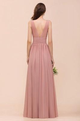 Schöne Brautjungfernkleider Lang Altrosa | Kleider für Brautjungfern_3