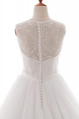 Wedding dresses v neckline | Simple wedding dress A line_6