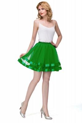 Hoop skirt short cheap | Ball gown with hoop skirt_36