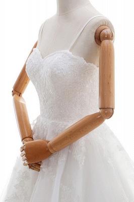Elegante Hochzeitskleider A linie | Brautkleid Cream_5