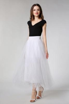 Hoop skirt short cheap | Wedding dress underskirt_10