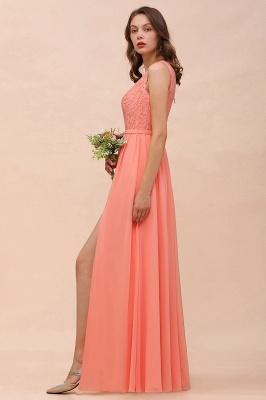 Wunderschöne Brautjungfernkleider Lang Coral | Kleider Für Brautjungfern Günstig_8